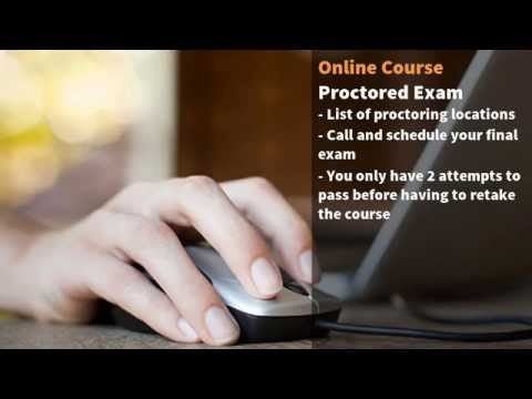 Step 2: Pass the Proctored School Exam - YouTube