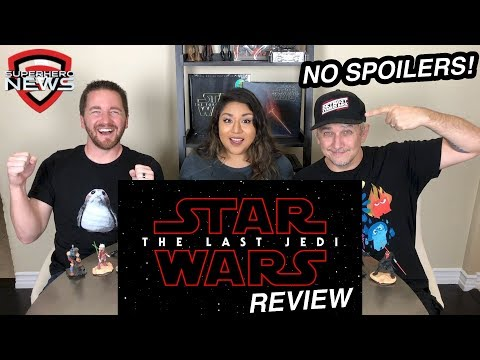 Star Wars: The Last Jedi review - no spoilers