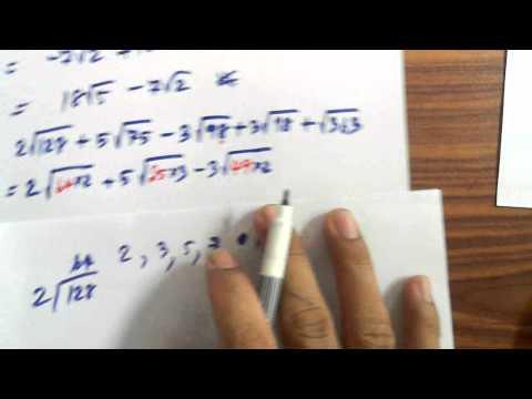 เฉลยโจทย์คณิตเพิ่มเติมม.3(การบวกลบกรณฑ์3)