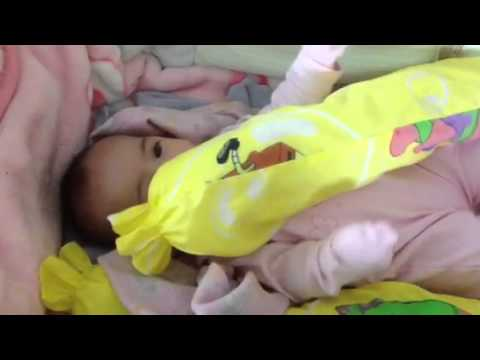 Baby Kayleigh And Her Hotdog Pillow Youtube