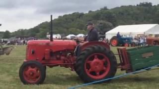 Tractors at the Shoreham Kent Heavy Horse Show 2016