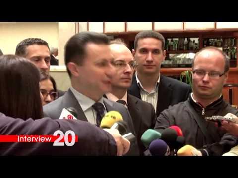 Interview 20 -  Nikola Gruevski, Sanela Prašović Gadžo
