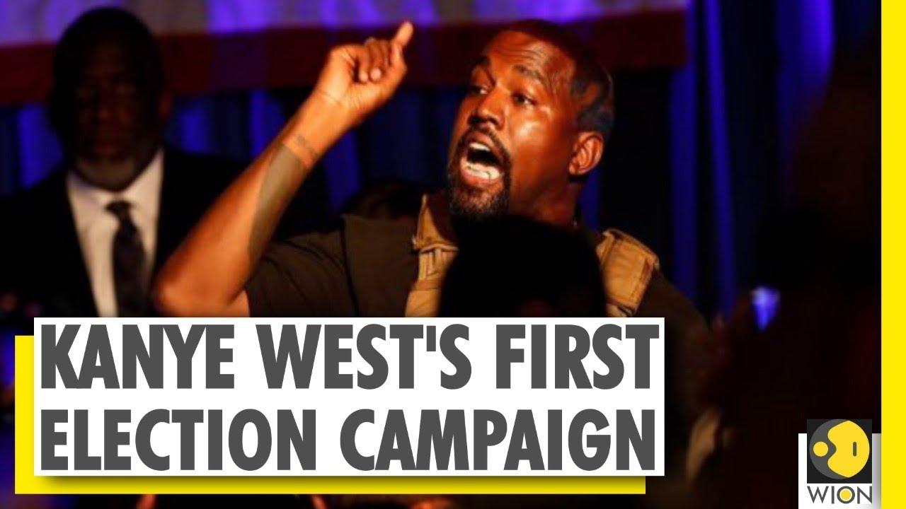 Rapper Kanye West Launches First Campaign For Us Presidential Elections 2020 Youtube