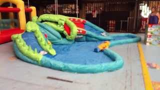 Crocodile Water Park - New Inflatable Water Slide