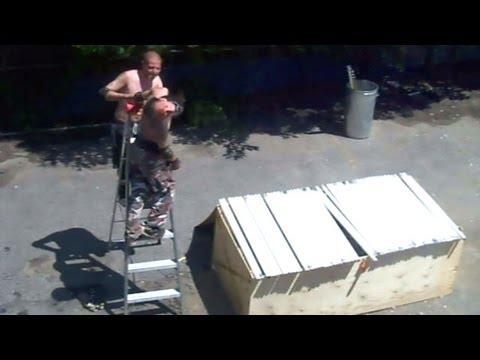 Buried In Blood Match - Swede Savard (c) VS Xristo {CHW Championship} Backyard Wrestling