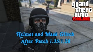 GTA 5 How to Put any Helmet on With a Mask After Patch 1.30/1.26
