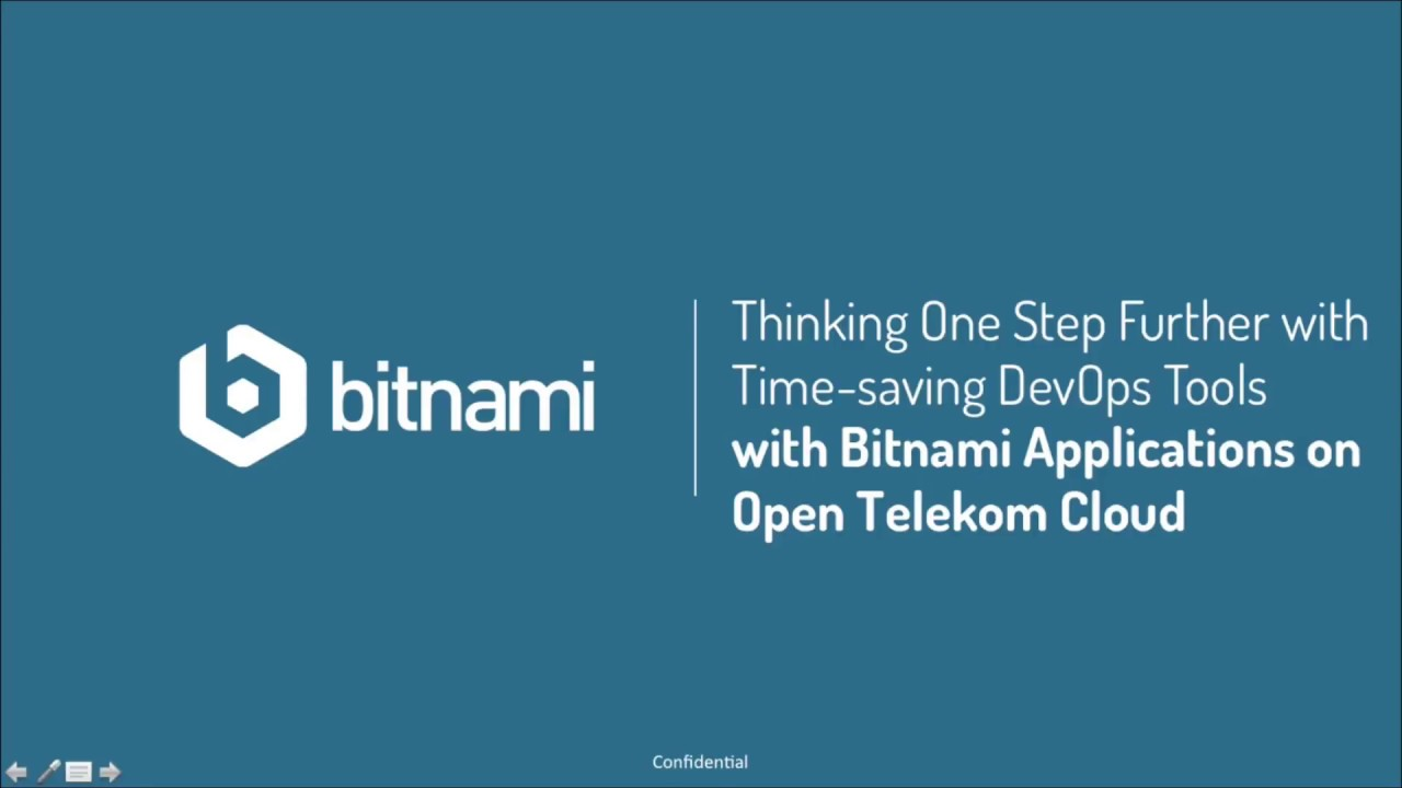 Thinking One Step Further with Time-saving DevOps Tools with Open Telekom  Cloud and Bitnami