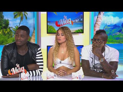 Emission nrj 12 LE MAG Jessy Matador Luyanna & Djibril Cissé