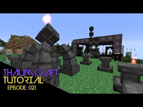 [21] MAGICAL MIRRORS :: Thaumcraft 4.2 Tutorial Revamped!