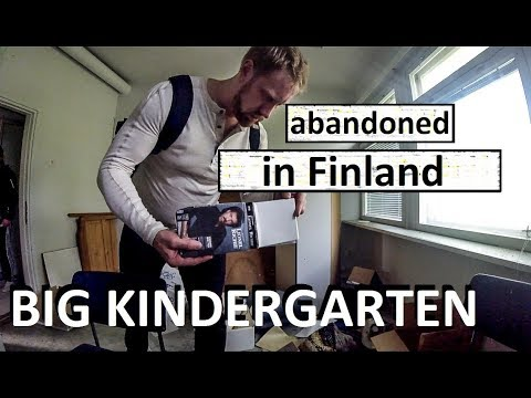Abandoned Kindergarten (Shady Russian Business!) URBAN EXPLORATION