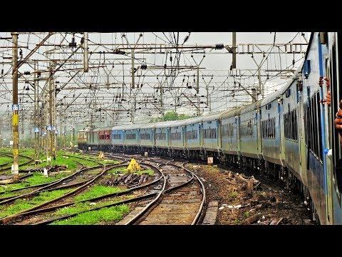 Mumbai To Lonavala - Beautiful Monsoon Journey - Push Pull Intercity Express