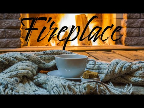 Relaxing Fireplace JAZZ - Christmas Smooth JAZZ & Bossa Nova - Chill Out Music