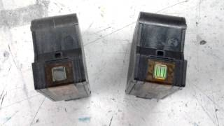 Beschadigde printkop cartridges