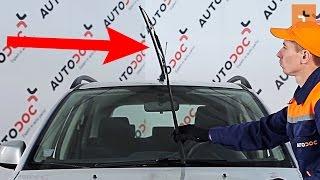Cómo cambiar Escobillas del limpiaparabrisas delantero en SUZUKI SX4 1 INSTRUCCIÓN | AUTODOC