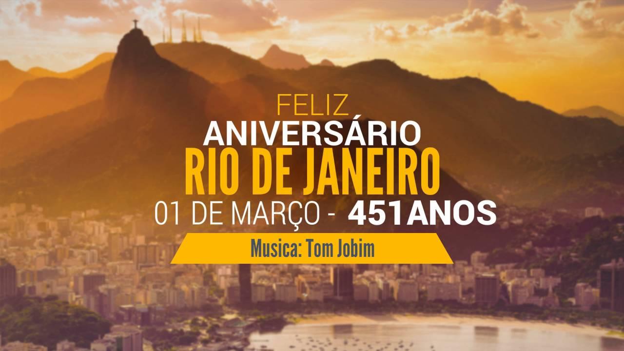 Feliz Aniversário Rio De Janeiro