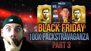 100K PACK PARTY - 20+ 100K PACKS! THE HUNT FOR SIF MESSI IS REAL! - FIFA 15 Ultimate Team