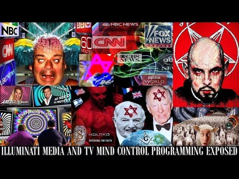 Illuminati Media and Television Mass Mind Control