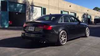 2014 B8.5 Audi S4 6SP MT with AWE Touring Exhaust and Non-resonated Downpipes