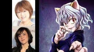 Anime Voice Comparison- Neferpitou (Hunter x Hunter)