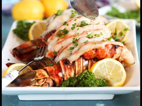 How to bake frozen lobster tails at home