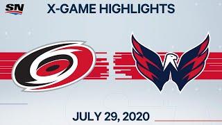 NHL Highlights   Hurricanes vs. Capitals – Jul. 29, 2020