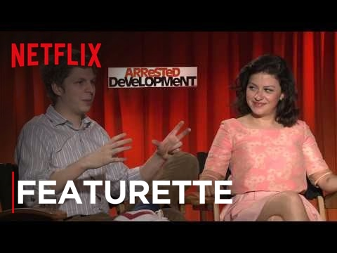 Arrested Development  Q&A with Jason Bateman, Michael Cera & Alia Shawkat  Netflix
