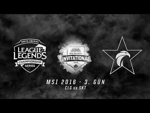 MSI 2016 Grup Aşaması - 3. Gün: CLG vs SKT