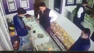 Jewellery Stealing At Rajkot 27/12/2018