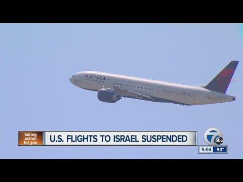 U.S. flights to Israel suspended