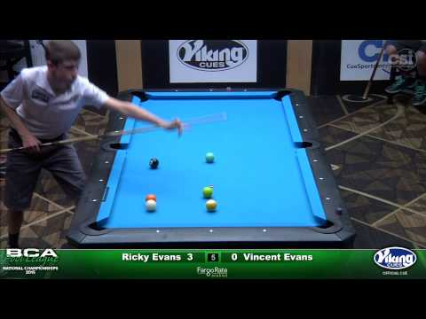 2015 Junior 9-Ball Challenge: Ricky Evans vs Vincent Evans