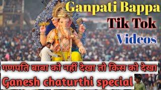 Ganpati Bappa Tik Tok s | Ganesh chaturthi special | ganpati Bappa Tik Tok