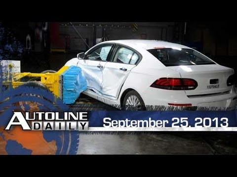 1st Chinese Automaker Receives 5-Star Crash Rating - Autoline Daily 1222