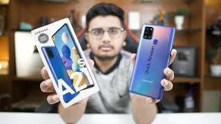 Samsung Galaxy A21s Unboxing & Quick Review!