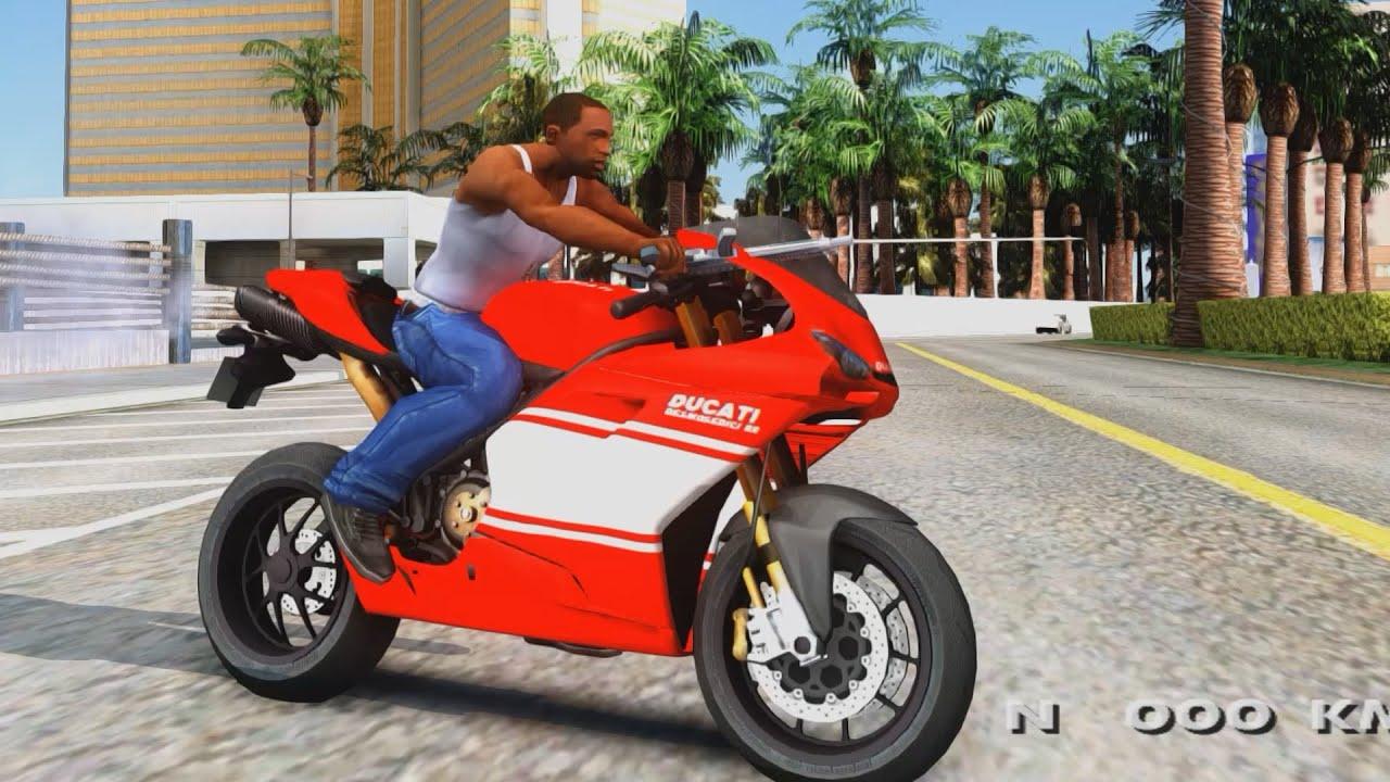 Jason Statham Ducati