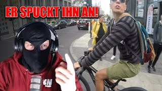 ER SPUCKT IHN AN! Road Rage! 😱| Kuhlewu Reaction!
