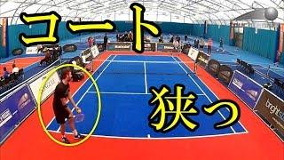 【タッチテニス】コートもラケットも小さい!コンパクトだが立派なテニスが面白そう【マイナースポーツ】