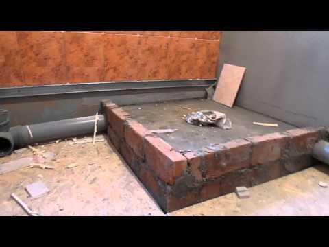 Ванная комната каркасного дома из ЛСТК