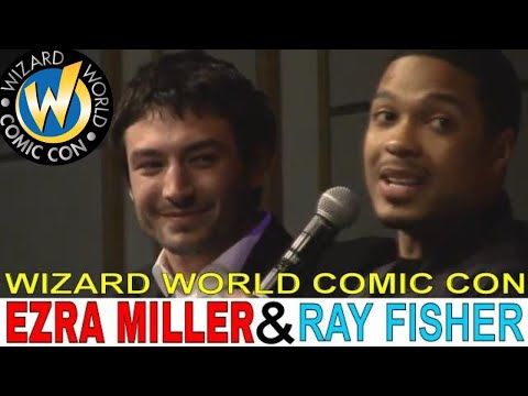 Ezra Miller and Ray Fisher panel at Wizard World Comic Con 2018 Full panel
