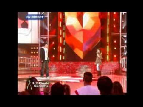 Gregory Lemarchal et Nolwenn Leroy   L'hymne à l'amour