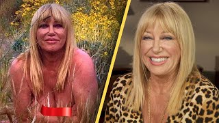 Suzanne somers doesn't regret posing nude. the 73-year-old celebrated her recent birthday by posting a photo of herself in suit. image sent ...