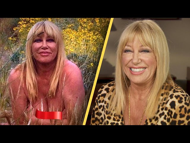Suzanne Somers to Nude Photo Haters\: 'Too Darn Bad'