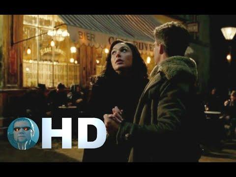 Wonder woman Diana dances with Steve Trevor HD