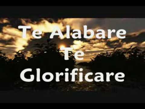 cancion te alabare te glorificare