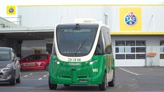 Technische Prüfung zweier autonomer Elektrobusse