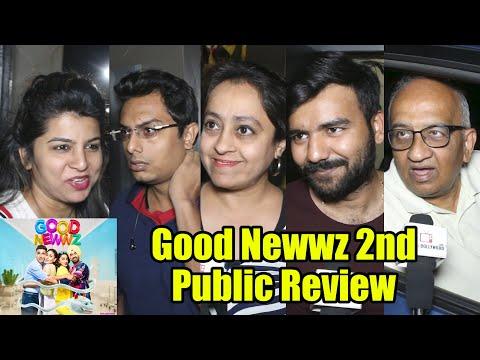 Good Newwz Movie Public Review | 2nd Day Review | Akshay Kumar, Kareena Kapoor