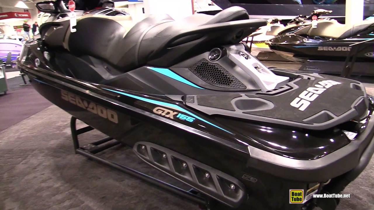 2016 Sea Doo GTX 155 Jet Ski - Walkaround - 2016 Toronto Boat Show