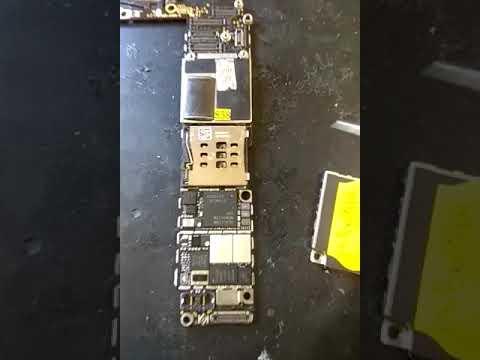 Ремонт IPhone 6 , КЗ в модеме
