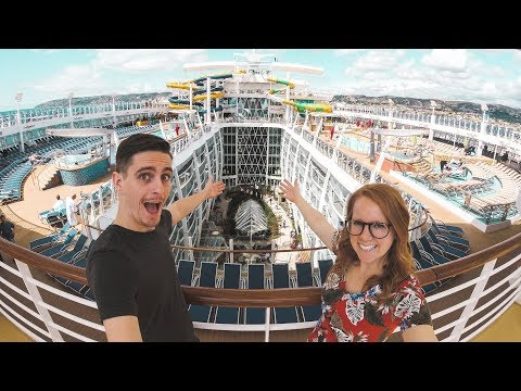 Boarding The LARGEST CRUISE SHIP IN THE WORLD! - Symphony of