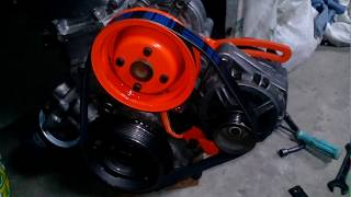установка генератора Ваз 2110 на Москвич 412
