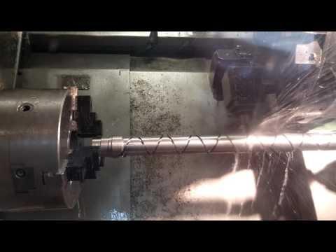 Traub TND 400 roller milling